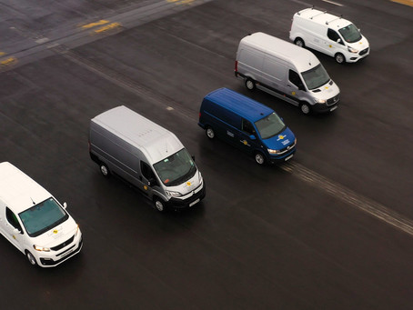 Tests for new Euro NCAP & Thatcham Research Commercial Van Safety Rating