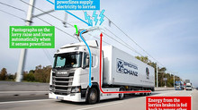 """Costain to lead """"electric road"""" trial for HGV charging"""