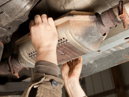 Catalytic converters: Worth more than gold!