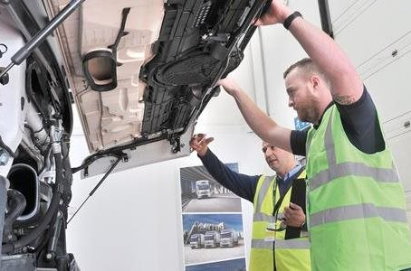 Logistics UK takes VIS training to new heights with Renault Trucks