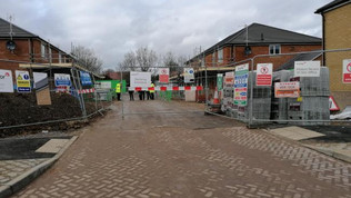 Man dies at Basingstoke building site