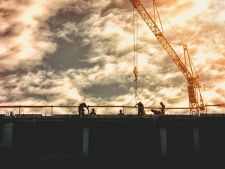 New work boosts construction output