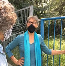 """גינה קהילתית בשכונת """"נווה שאנן"""" בחיפה"""