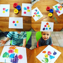 An experiment in colour 🎨 _Learning how our primary colours make all the other colours in the rainb