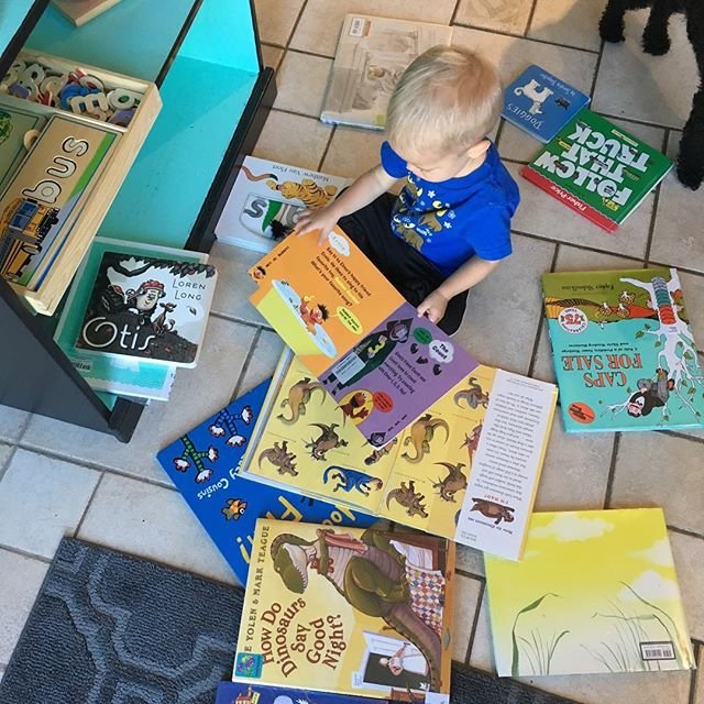 Start them young 📚__Fostering a love of books from a young age is just so important.jpg _Books take