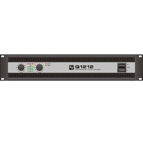 ELECTROVOICE Q1212 AMPLIFICADOR DE POTENCIA 1200W 4OHMX2