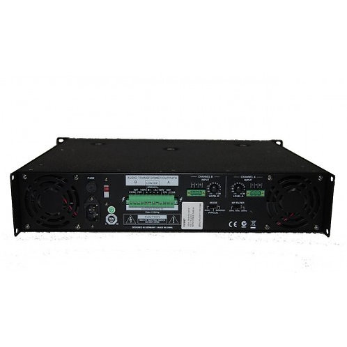 ELECTROVOICE PA 2400T AMPLIFICADOR DE POTENCIA 70/100V 400WRMSX2 230V