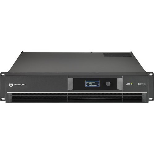 DYNACORD C2800 FDI AMP INSTAL 2X1400W