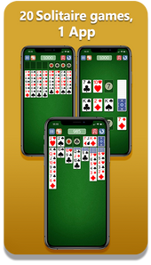 20 Solitaire Games