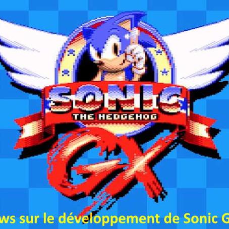 Sonic GX, des nouvelles sur son développement ***A VENIR***