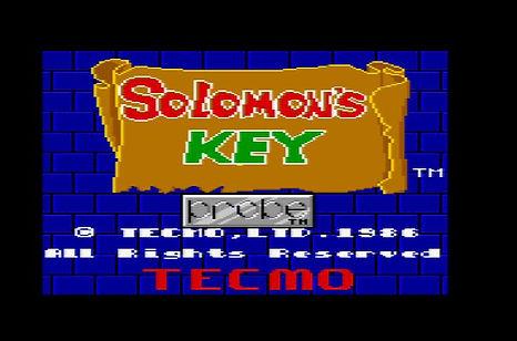Solomon's Key1.JPG