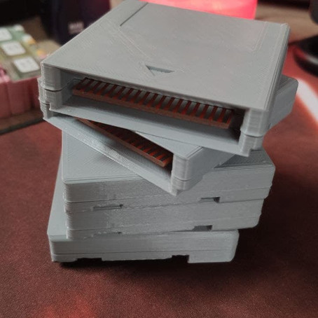 Des cartouches de jeux et un kit 128 Ko pour GX4000