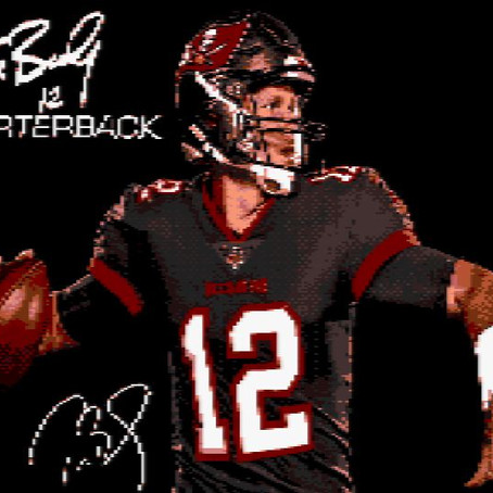 Tom Brady 12 Quarterback *** Disponible ***