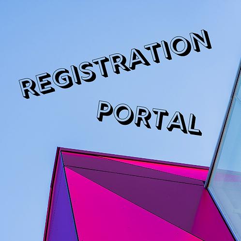Masterclass Registration Software
