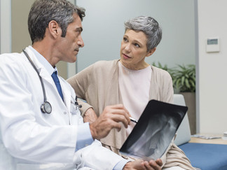 Have you been diagnosed with osteoporosis?