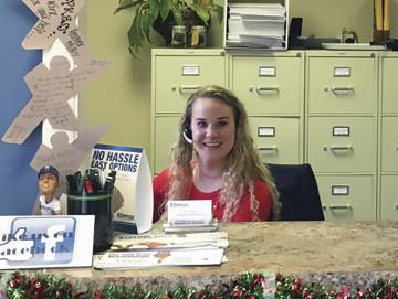 Lauren Express office coordinator