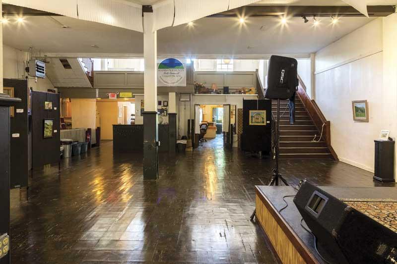 building interior in Marshall