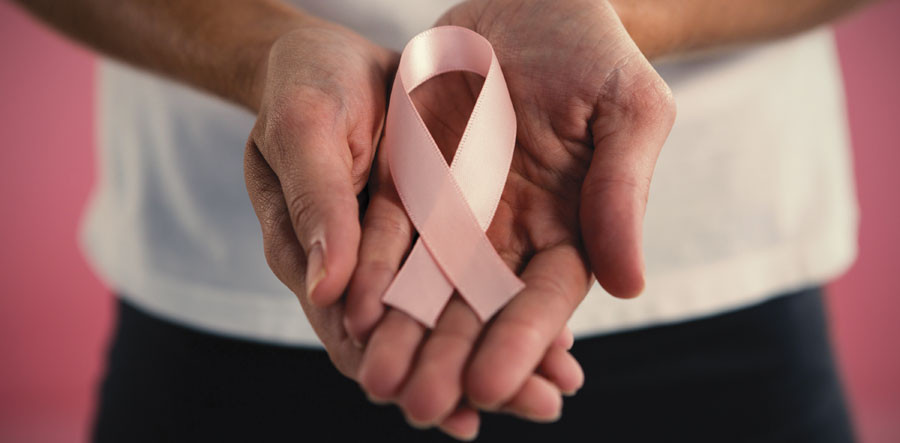 Breast cancer ribbon