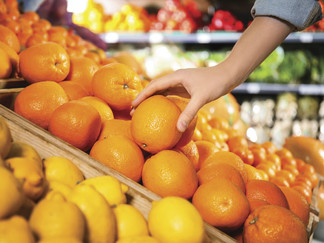 How about 'an orange a day'?