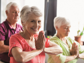 Yoga for Seniors is a thing