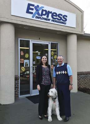 Express owners Gary Gallagher and daughter Meredith Campbell