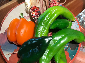Sandy's Food for Thought: Cooking on the Wild Side