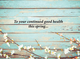 Spring is the Season for Renewal and Rebirth