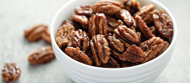 Sweet-Roasted Pecans