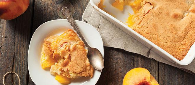 The Classy Cook: Peach Cobbler