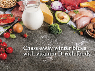 Chase away the winter blues with Vitamin D