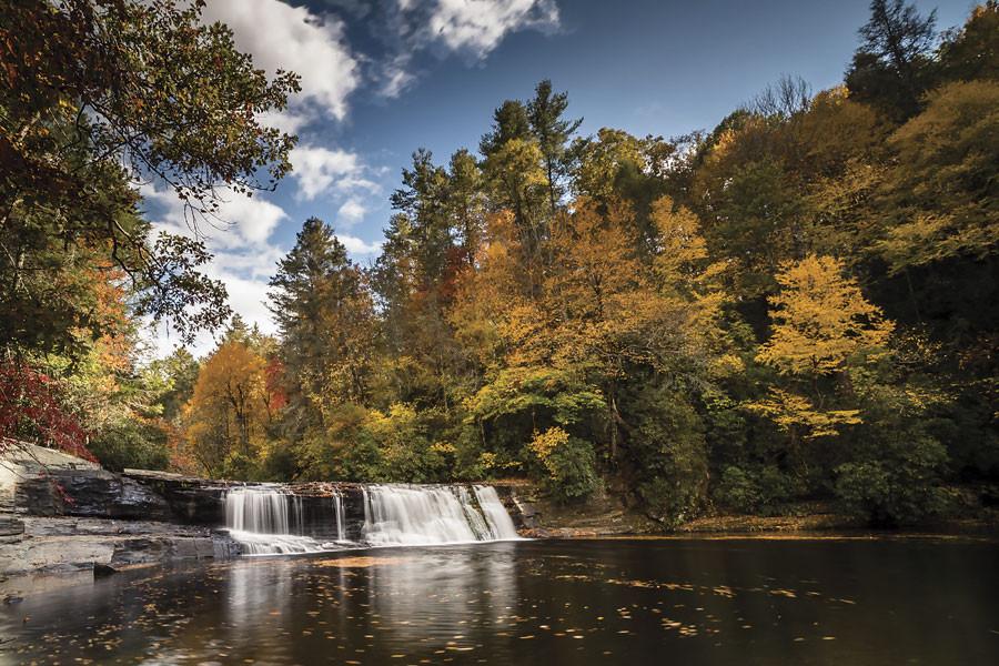 Falls near Brevarad