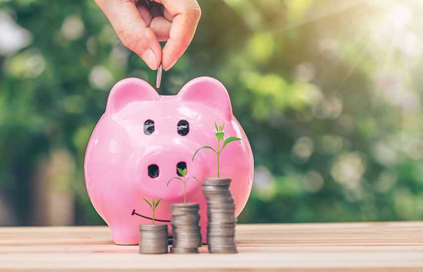 savings to piggy bank financial planning for the future