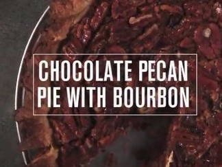 How can you go wrong with chocolate, bourbon and pecans?