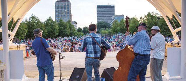 Shindig on the Green celebrates 51st season in downtown Asheville