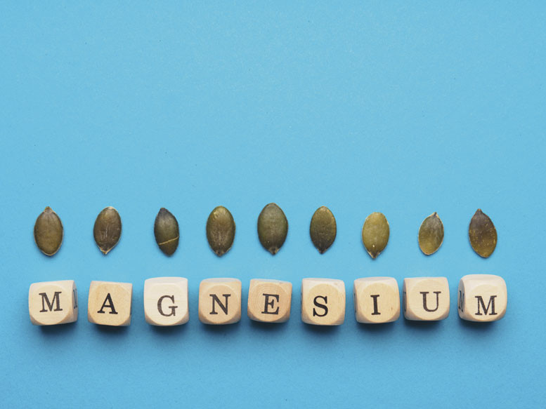 magnesium supplements are cool