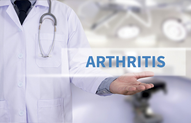 Conceptual image showing the word Arthritis