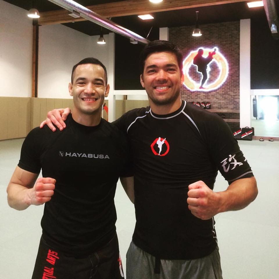 Training with Lyoto Machida