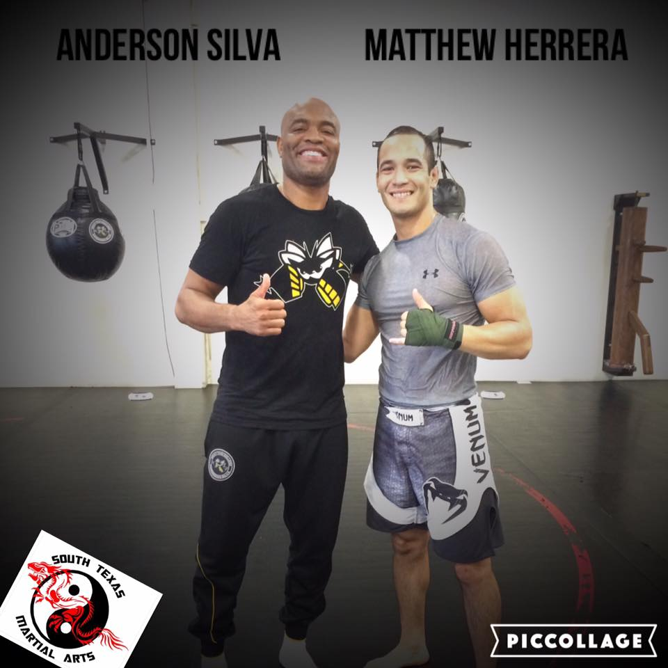 Training with Anderson Silva