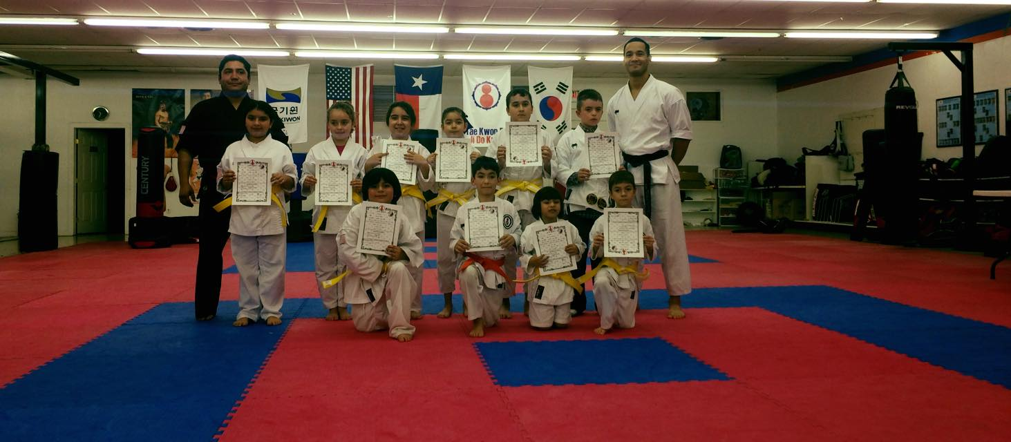Tae Kwon Do Belt Promotion