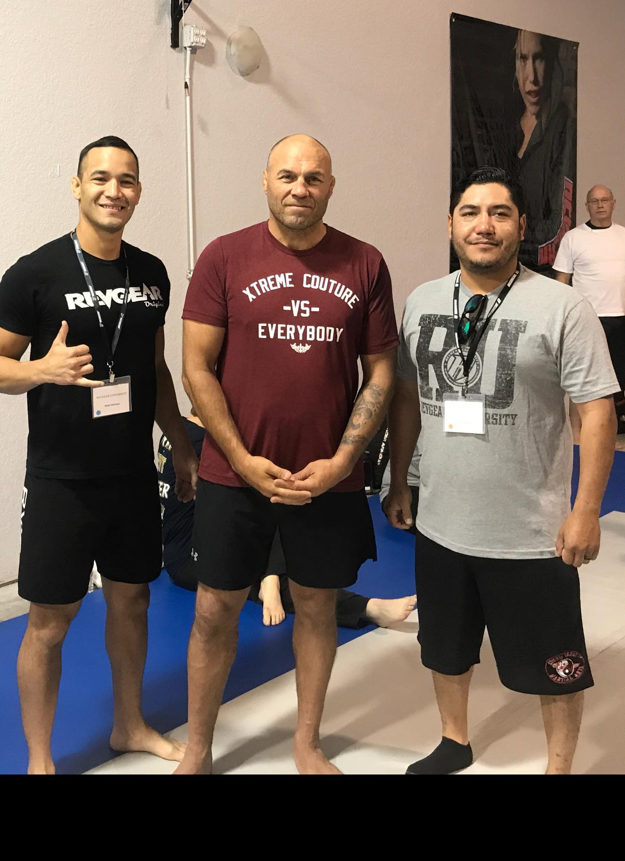 Seminar with Randy Couture