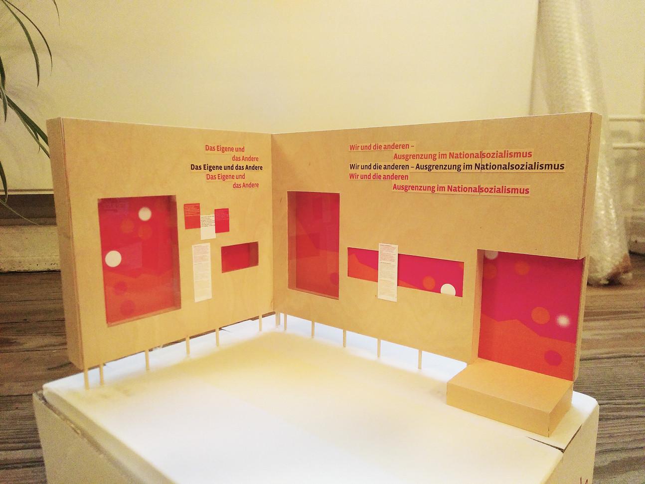 """Modell für die Sonderausstellung """"Flensburg 2020"""" (Museumsberg Flensburg) - Ein Projekt von gwf-ausstellungen"""