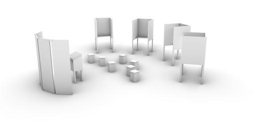 Visualisierung des Gesamtaufbaus