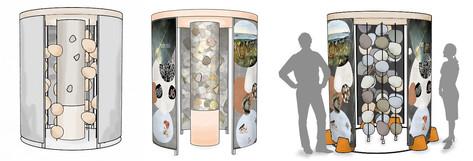 Entwicklung Raummodul Sandlückensystem