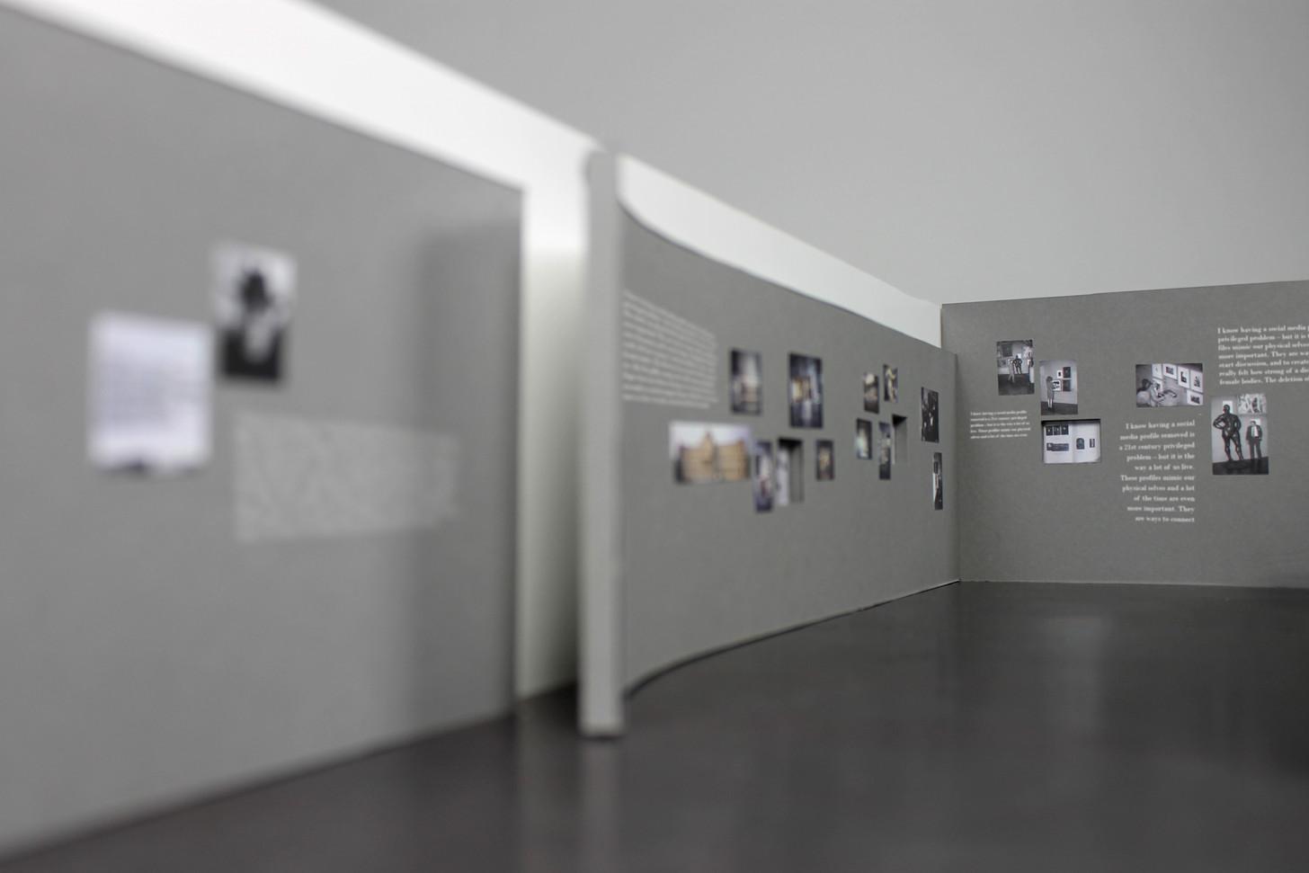 """Modell für den Entwurf der Sonderausstellung """"The Play of the Unmentionable"""" - Ein Projekt an der Muthesius Kunsthochschule"""