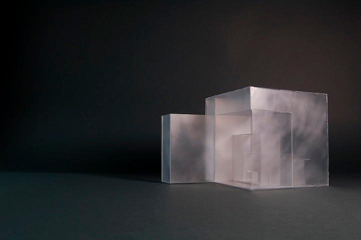 """Modell für den Entwurf des Parkcafés """"Schnecke"""" - Ein Projekt an der Muthesius Kunsthochschule"""