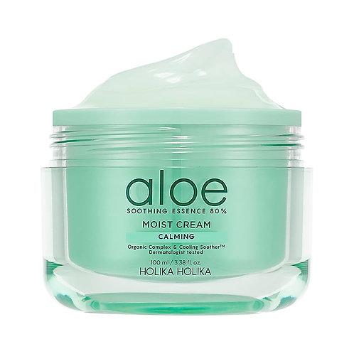 [Holika Holika] Aloe Soothing Essence 80% Moist Cream