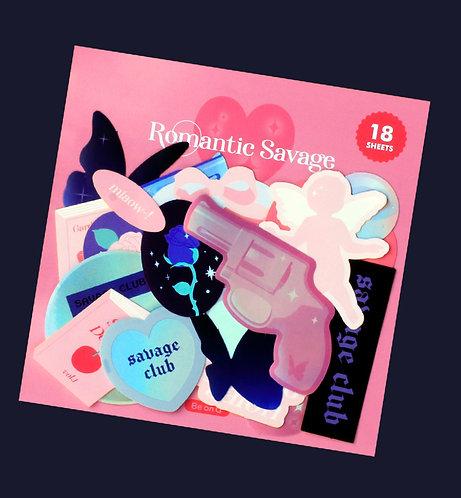 Romantic Savage Sticker Pack