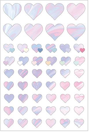 Love in Life - Heart Sticker