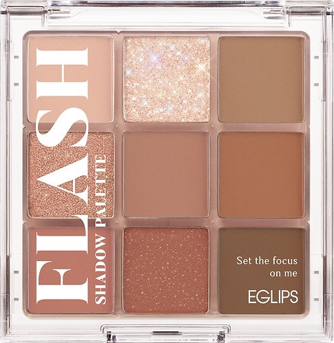 [Eglips] Flash Eyeshadow Palette After Nude