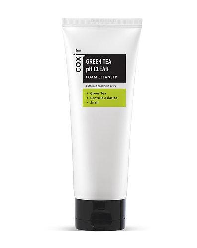 [Coxir] Green Tea pH Clear Foam Cleansing
